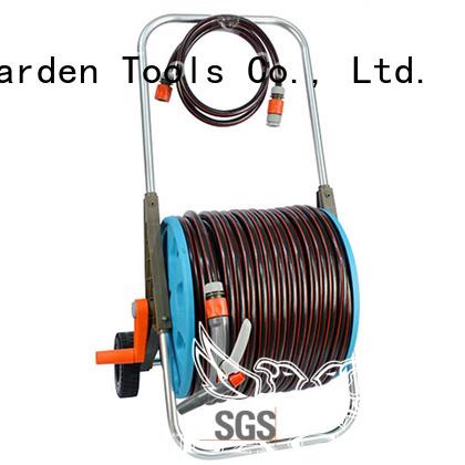 hose pipe reel gun quality adjustable 80m hose reel set manufacture