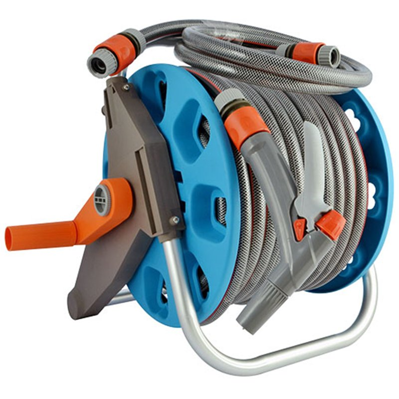 30 meter retractable pressure washer hose reel garage tool for car and garden watering agricultural irrigation+30m retractable