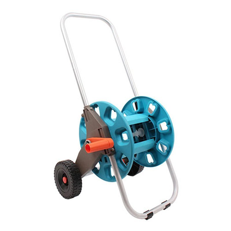 detachable garden hose reel cart with two wheel +30 meter Thirty  Hose Reel car+PP and ABS+Aluminum tube+EG-2030DL