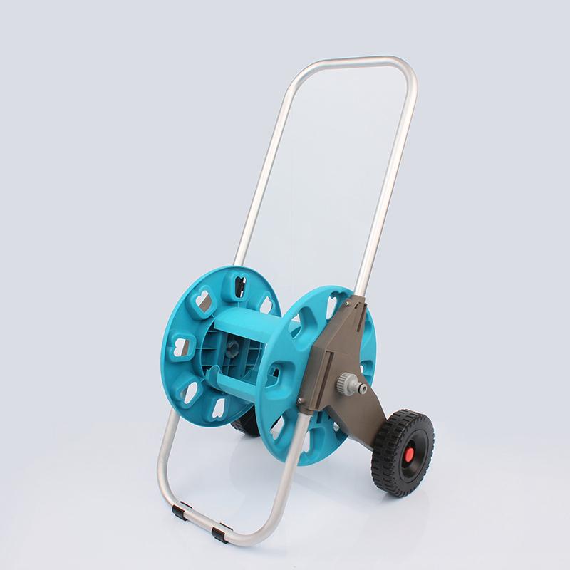 telescopic Custom plastic hose reel cart half Eagle