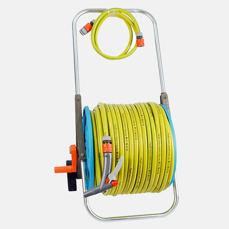 hose pipe reel price low 80m hose reel set trolley Eagle Brand