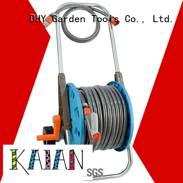 Quality Eagle Brand 50m hose pipe and reel price adjustable