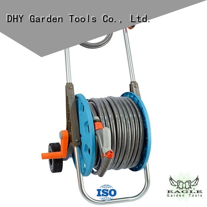 spray low 50m hose pipe and reel trolley patterns Eagle Brand