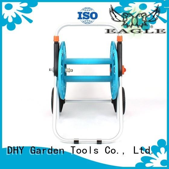 Quality Eagle Brand telescopic hose reel cart