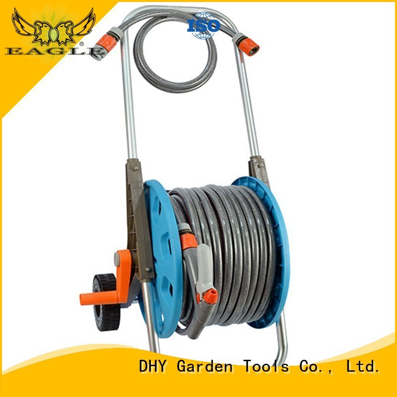 50m hose pipe and reel nozzle 50m hose reel set trolley company