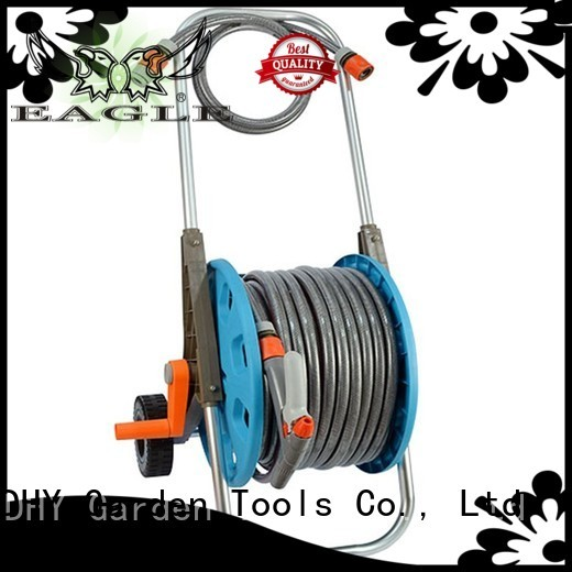 trolley quality watering 50m hose reel set Eagle Brand