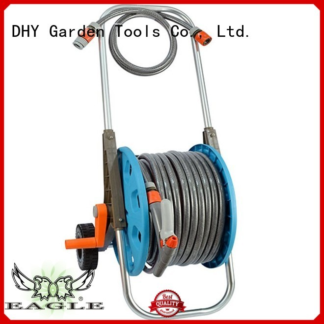 low nozzle 50m hose pipe and reel trolley Eagle company